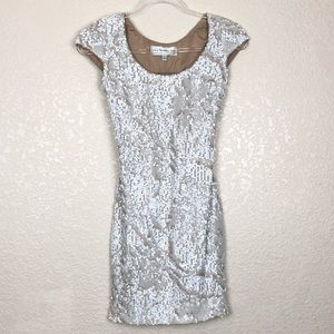 Dress The Population Sequin Dress, S